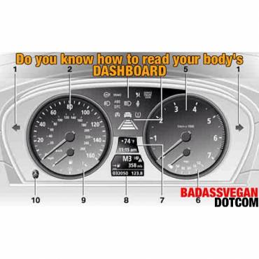 Do you know how to read your body's Dashboard?